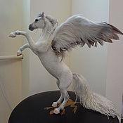 Куклы и игрушки handmade. Livemaster - original item The Pegasus felt. Handmade.