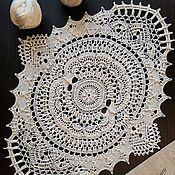 Для дома и интерьера handmade. Livemaster - original item The extraordinary beauty of the napkin