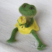 Куклы и игрушки ручной работы. Ярмарка Мастеров - ручная работа Принцесса-лягушка. Handmade.