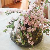 Цветы и флористика ручной работы. Ярмарка Мастеров - ручная работа Сакура. Handmade.