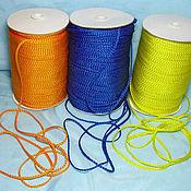 Материалы для творчества ручной работы. Ярмарка Мастеров - ручная работа шнур плетеный. Handmade.