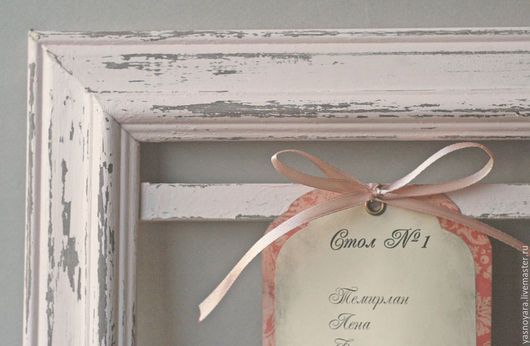 Свадебные аксессуары ручной работы. Ярмарка Мастеров - ручная работа. Купить План рассадки гостей Чайная роза (в деревянной раме). Handmade.