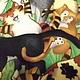 """Детская ручной работы. Подушка для детской """" ДОБРЫЙ КОТ"""". Салон рукоделия. Ярмарка Мастеров. Подушка декоративная, лоскутная подушка"""
