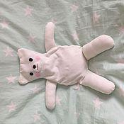 """Куклы и игрушки ручной работы. Ярмарка Мастеров - ручная работа Грелка с вишневыми косточками """"Мишка"""". Handmade."""