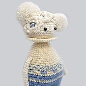 Stuffed Toys handmade. Livemaster - original item Crocheted Doll Pierrette.. Handmade.