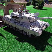 Техника, роботы, транспорт ручной работы. Ярмарка Мастеров - ручная работа Радиоуправляемая модель танка Leopard-1A4 1/16. Handmade.
