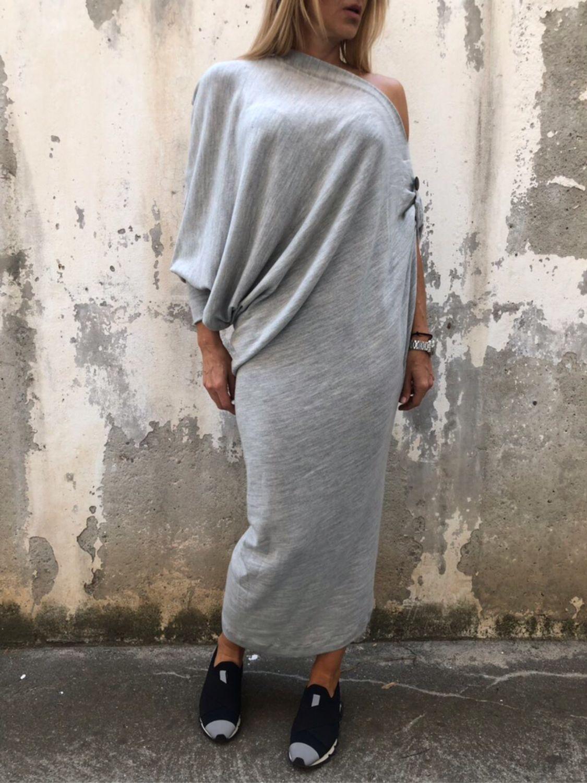 b5548928580d Ярмарка Мастеров - ручная работа. Купить Экстравагантная ассиметричная  платье туника · Платья ручной работы. Экстравагантная ассиметричная платье  туника.