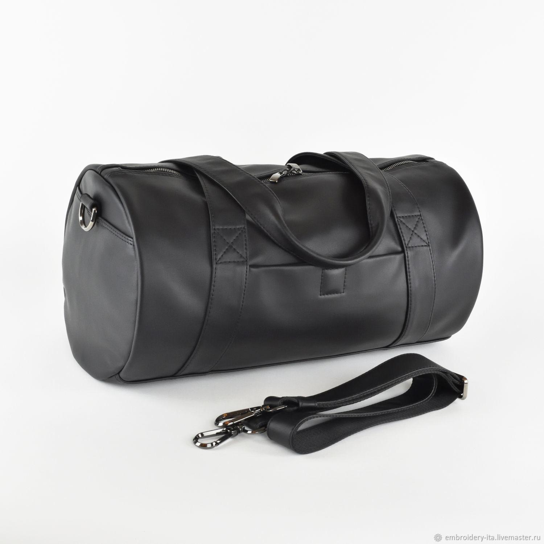 Сумка спортивная кожаная маленькая мод. 035, Спортивная сумка, Одинцово,  Фото №1