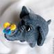 Игрушки животные, ручной работы. Ярмарка Мастеров - ручная работа. Купить Слоник Шурик (6 см). Handmade. Слоник, озорной