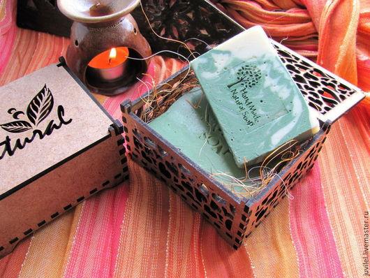 Подарочные наборы косметики ручной работы. Ярмарка Мастеров - ручная работа. Купить Oriental box- коробочка с мылом. Handmade. Подарок