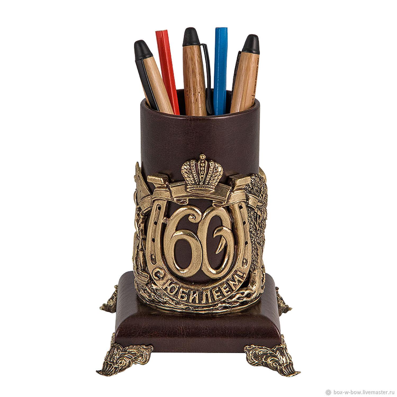 Карандашница С Юбилеем! 60 лет, Карандашницы, Москва, Фото №1