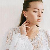 """Одежда ручной работы. Ярмарка Мастеров - ручная работа Свитер вязаный """"Роскошный белый"""". Handmade."""