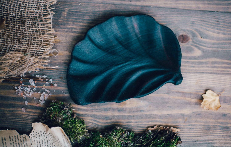 Saucer leaf from a tree, Utensils, Kazan,  Фото №1