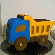 Пряники ручной работы. Ярмарка Мастеров - ручная работа Пряничный грузовик. Handmade.