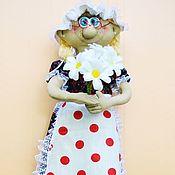 Народная кукла ручной работы. Ярмарка Мастеров - ручная работа Кукла-пакетница. Handmade.