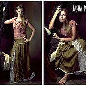 """Одежда ручной работы. Ярмарка Мастеров - ручная работа Юбка из серии """"Мое бохо"""" и топ.. Handmade."""