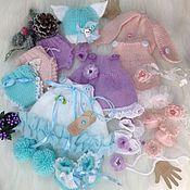"""Куклы и игрушки ручной работы. Ярмарка Мастеров - ручная работа """"Лето"""" комплект для куклы. Handmade."""