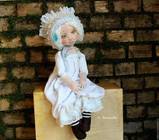 Коллекционные куклы ручной работы. Ярмарка Мастеров - ручная работа. Купить Аврора текстильная авторская коллекционная интерьерная кукла. Handmade.