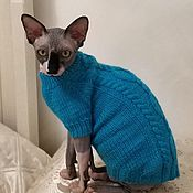 Одежда для питомцев ручной работы. Ярмарка Мастеров - ручная работа Одежда/свитер для собак и кошек. Handmade.