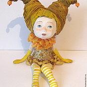 """Куклы и игрушки ручной работы. Ярмарка Мастеров - ручная работа кукла Мечталка """"Солнечная"""" в частной коллекции. Продана.. Handmade."""