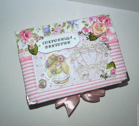 """Подарки для новорожденных, ручной работы. Ярмарка Мастеров - ручная работа. Купить Мамины сокровища для девочки ЗайкаМи """"Маленькая кроха"""". Handmade."""