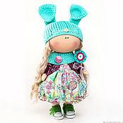 """Тыквоголовка ручной работы. Ярмарка Мастеров - ручная работа Текстильная кукла """"Мэри"""". Handmade."""