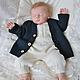 """Одежда ручной работы. Ярмарка Мастеров - ручная работа. Купить Комплект """"Стильный малыш"""" 3в1. Handmade. Для новорожденного"""