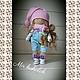 Интерьерная куколка ручной работы, , Ангарск, Фото №1