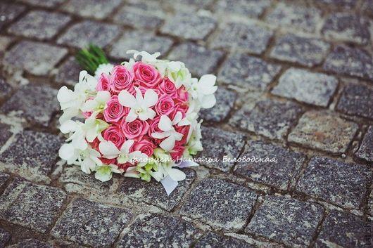 Свадебные цветы ручной работы. Ярмарка Мастеров - ручная работа. Купить Букет невесты. Handmade. Букет невесты, кружево