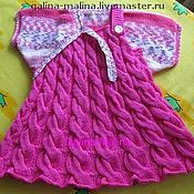 Одежда детская handmade. Livemaster - original item Sundress with Bolero.. Handmade.