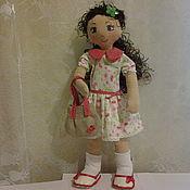 Куклы и игрушки ручной работы. Ярмарка Мастеров - ручная работа кукла Тыквоголовка. Handmade.