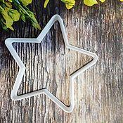 """Формы ручной работы. Ярмарка Мастеров - ручная работа Формы: для пряников, печенья и мастики """"звезда"""". Handmade."""