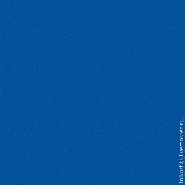 Фоамиран корейский, 1 мм, 50х50 см. Синий, Фоамиран, Новороссийск, Фото №1