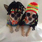 Для домашних животных, ручной работы. Ярмарка Мастеров - ручная работа Шапочка для собаки. Handmade.