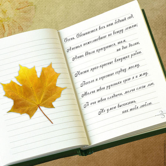 фотокартина. фотокартина осенняя. осень. книга. тетрадь. осенний лист.осенний сюжет.текст. рукопись. стихи. тетрадь и стихи.желтый. бежевый. белый.зеленый. коричневый книги.