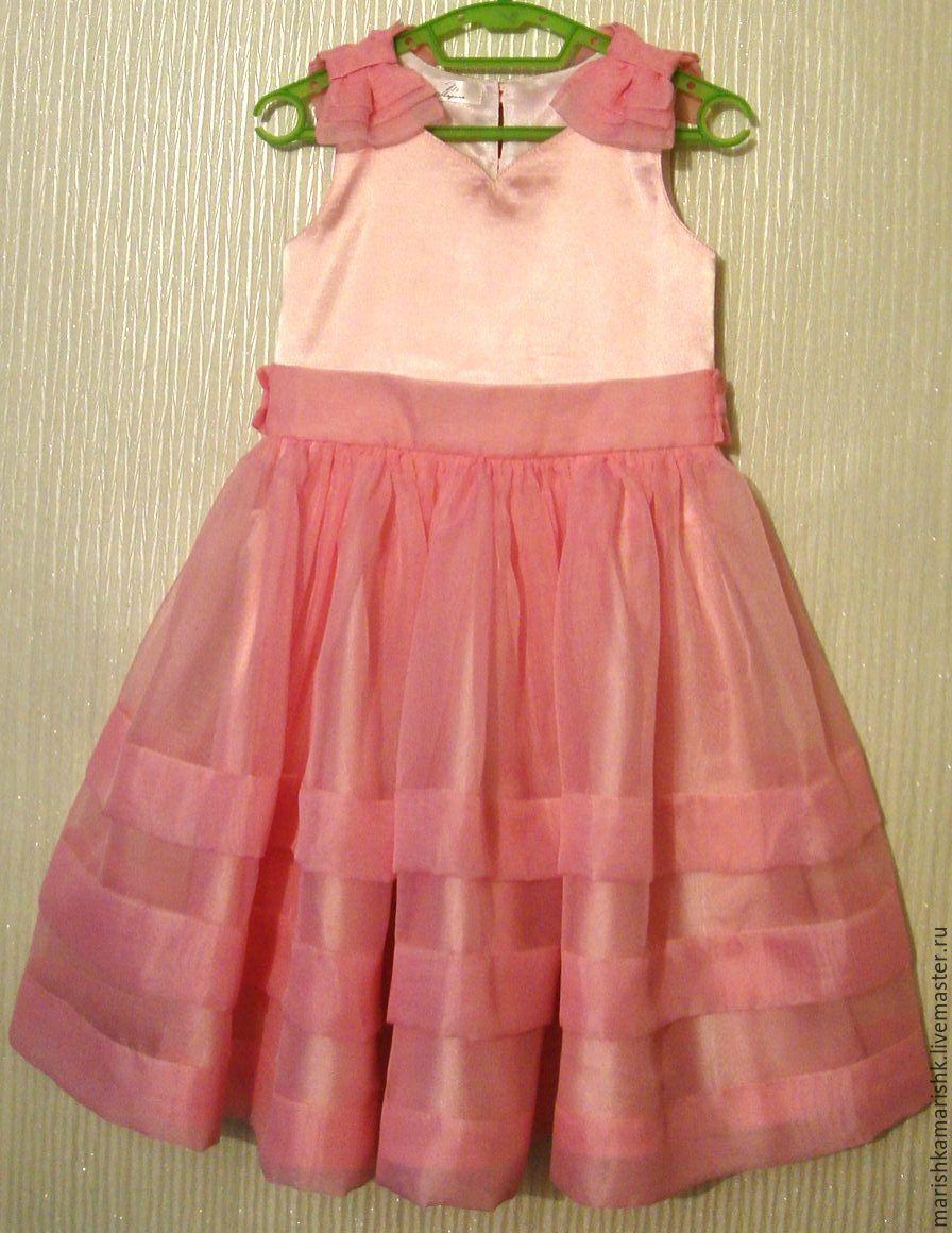 051980915d9 ручной работы. Ярмарка Мастеров - ручная работа. Купить Детское праздничное  платье.
