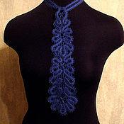 Аксессуары ручной работы. Ярмарка Мастеров - ручная работа Кружевной женский галстук. Handmade.