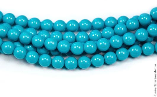 Для украшений ручной работы. Ярмарка Мастеров - ручная работа. Купить 4мм Turquoise Жемчуг Сваровски 709 Swarovski Perl 30 шт. Handmade.