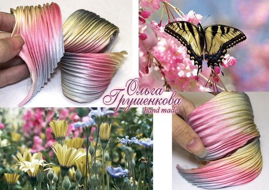 Лента шибори  №8  `Полет бабочки`