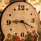 """Для дома и интерьера ручной работы. Ярмарка Мастеров - ручная работа Часы настенные """"Морошка"""". Handmade."""