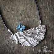 Украшения handmade. Livemaster - original item Silver flight necklace. Handmade.