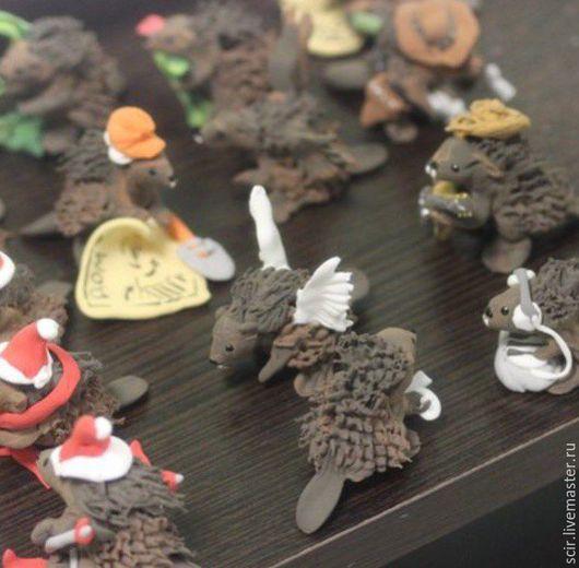 Миниатюрные модели ручной работы. Ярмарка Мастеров - ручная работа. Купить Маленькие фигурки (миниатюра) в разных образах, 10 штук. Handmade.