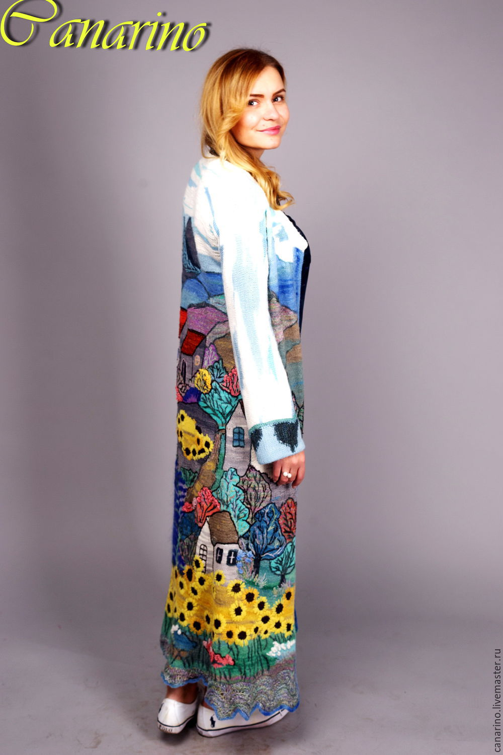 Coat summer in the village shop online on livemaster for Outer cloth