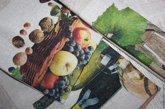 """Кухня ручной работы. Ярмарка Мастеров - ручная работа. Купить Набор полотенец из 3-х штук """"Дионис"""". Handmade. Комбинированный"""