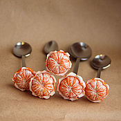 """Посуда ручной работы. Ярмарка Мастеров - ручная работа Вкусная ложка """"Мандарин"""". Handmade."""