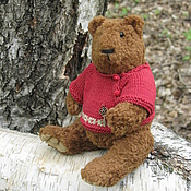 Куклы и игрушки ручной работы. Ярмарка Мастеров - ручная работа Медведь ИГНАТ. Handmade.