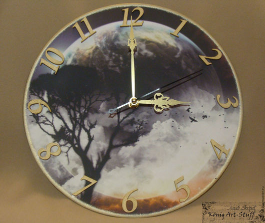Часы для дома ручной работы. Ярмарка Мастеров - ручная работа. Купить Часы. Handmade. Часы, часы настенные