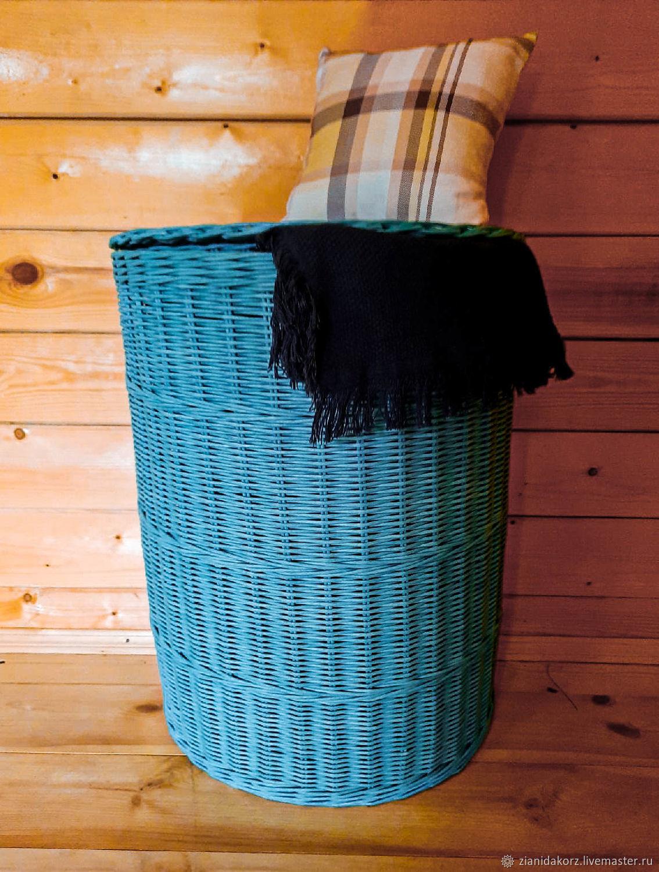 Плетёная корзина для белья, Корзины, Москва,  Фото №1