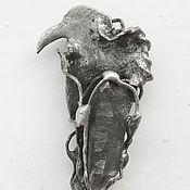 Украшения ручной работы. Ярмарка Мастеров - ручная работа Ключ безумия - птица. Handmade.
