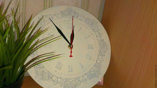 Винтажные предметы интерьера. Ярмарка Мастеров - ручная работа. Купить Винтажные часы. Handmade. Бежевый, часы купить